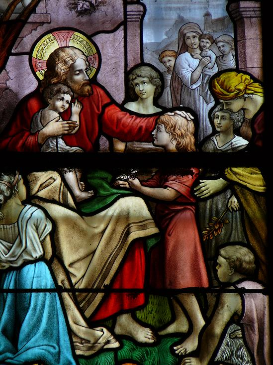 jesus benit les enfants